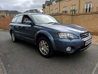 LEGACY OUTBACK AUTO - FSH - TOP SPEC - PANROOF LEATHER - HPI CLEAR