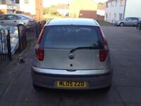 Fiat punto 1.2 05 plate