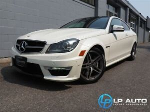 2012 Mercedes-Benz C-Class C63 AMG Coupe! MINT! Easy Approvals!