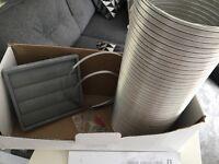 """Brand new Manrose cooker hood venting kit 150mm 6"""""""