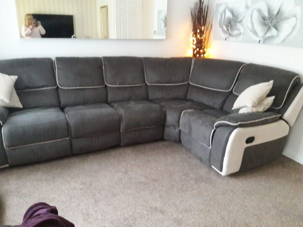 Corner Recliner Sofa Deposit taken | in Seaham, County Durham | Gumtree