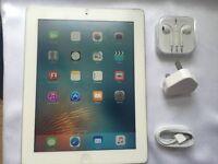 iPad 3, 32GB, RETINA, TEMPERED GLASS, great iPad