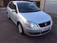 2007 Volkswagen Polo 1.4 SE 5dr Automatic Low Mileage @07445775115@