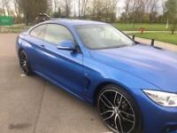 BMW 420d m sport xdrive top spec px