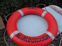 Boat lifebuoy ring Perrybuoy