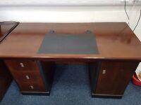 Mahogony style desk