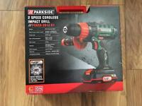 Parkside 20v 2 speed cordless impact drill/driver