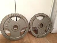 Iron 10kg plates