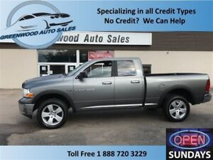 2012 Ram 1500 SLT 4x4 Quad Cab! GOOD KM! CALL NOW!