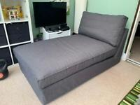 IKEA Kivik Chaise Anthracite - collection only