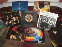 "Collection of 9 Electric Light Orchestra 12"" Vinyl LPs"