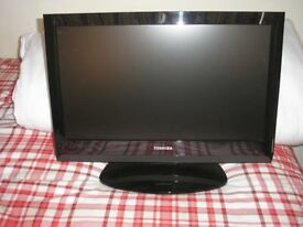 Toshiba 19 inch screen television