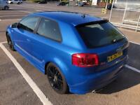 2007 Audi S3, finished in Sprint Blue