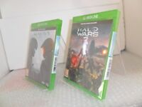 Halo 5: Guardians + Halo Wars 2 Xbox One - BOTH GAMES ARE NEW & SEALED
