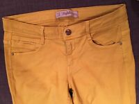 Zara Yellow Jean Size 34 - New worn once only