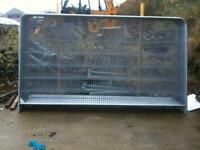 Temporary Site Fencing Panels - Round Top Anti-Climb Panels - ALL NEW STOCK