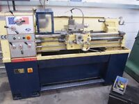 Metal Centre Lathe with DRO & Tools