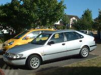 1997 Silver SAAB 900SE, 5 door 2.3 Ltr. petrol, 9 months MOT. ** REDUCED IN PRICE!**