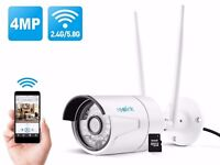 Reolink RLC410WS 4 Mega Pixels Dual Band Outdoor Home IP Wireless Camera SuperHD