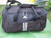 Large As New Adidas Black Fabric Sports Bag for Only £15.00