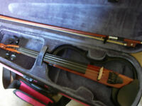 Yamaha SV120 electric/silent violin -superb amplified/headphones instrument