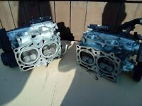 p1 cylinder heads refurbished with titanium valve springs £500 Brembo callipers £350