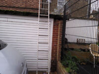 ALI LADDER FREE STANDING 11 foot 8 inch tall 13 runs very good condition £30 ovno