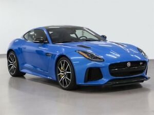 2017 Jaguar F-Type Coupe SVR AWD @ 2.9% INTEREST CERTIFIED 6 YEA