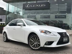 2014 Lexus IS 250 AWD Navi Backup Cam Leather Sunroof