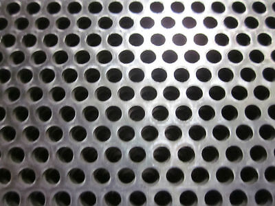 0.12 11 Ga 18 Hole X 24 X 24 304 Perforated Stainless Steel