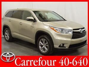 2014 Toyota Highlander Hybrid LE 4WDi 8 Passagers+Demarreur a Di