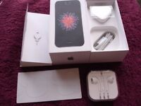 ********** BRAND NEW IPHONE SE COMPLETE IN BOX UNUSED, STILL UNDER IPHONE WARRANTY**********