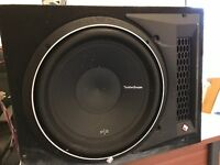 ROCKFORD P2 SUB PLUS AMPLIFIER PBR300X1