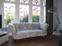 Floral Pattern DFS 'Concerto' 3 Seater Sofa rrp £1098