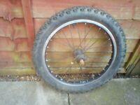 Rear wheel 18 inch used single gear