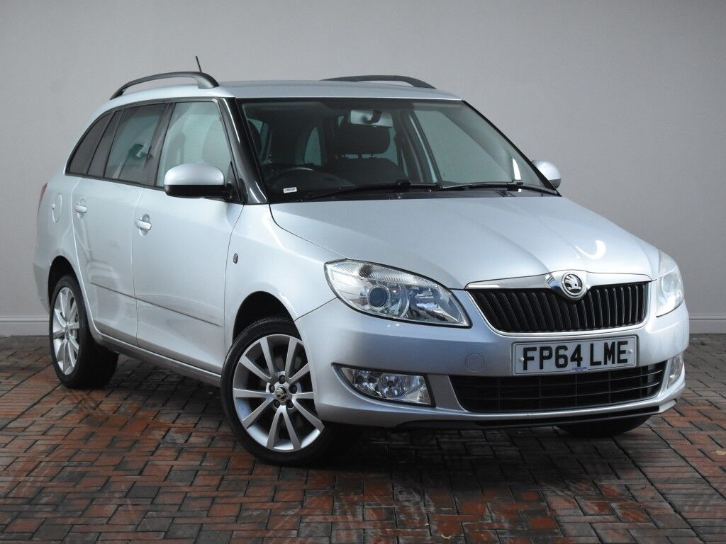 skoda fabia 1 2 tsi 105 elegance 5dr dsg auto silver. Black Bedroom Furniture Sets. Home Design Ideas