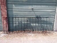 Gates for driveway. Steel.