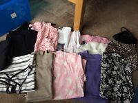 Bundle of ladies top size 10