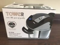 Brand New and Sealed Tower 6 Litre Pressure Cooker