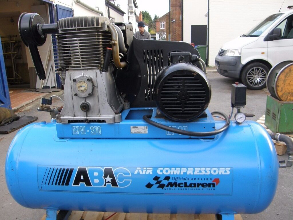 Compressor by ABAC ideal for garageworkshopin Farnborough, HampshireGumtree - Compressor by ABAC ideal for garage or workshop this compressor is like new as it was a spare bought new in 1995 11 Bar sn 69511