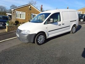 VW CADDY MAXI IN WHITE 113000 MILES NO VAT