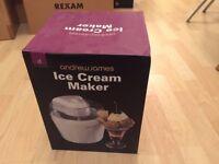 Andrew James Ice Cream Maker - Brand New! In original box