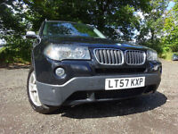 57 BMW X3 SE 2.0 DIESEL 4X4,MOT AUG 018,PART HISTORY,2 OWNERS ,STUNNING EXAMPLE,VERY RELIABLE 4X4