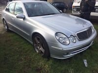 MERCEDES E-CLASS BREAKING!! Gear Box And Engine Available