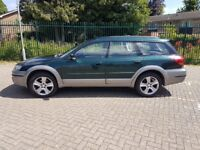 2004 Subaru Outback R 3.0, auto, top spec. cream leather, heated electric seats