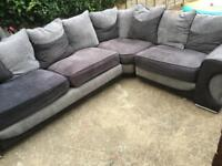 Csl corner sofa. Delivery