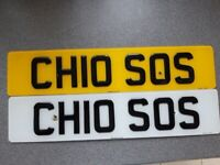 Number plate CH10 SOS for immediate sale