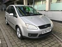 2006) FORD FOCUS C-MAX 1.6 DIESEL, ZETEC TDCI ( Full 12 Months MOT + New Turbo + New timing belt)