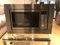 Baum attic integrated microwave oven stainless steel