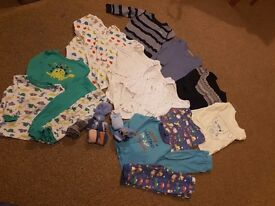 Baby bundle 9-12 months 23 pieces
